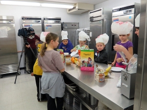 Chefs at food day